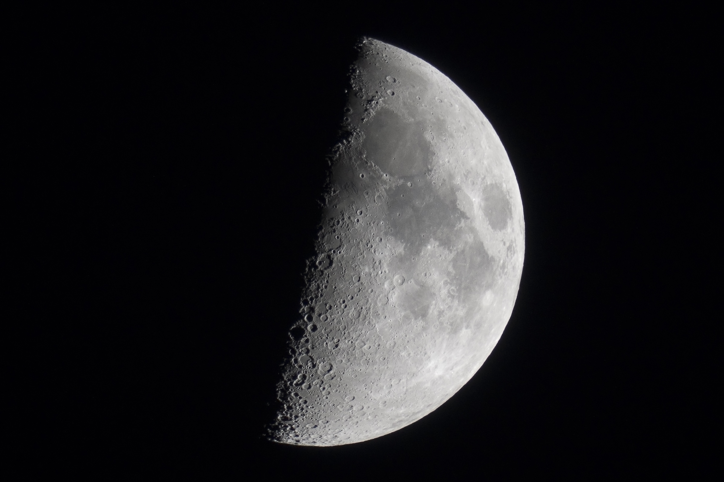 The Half Moon with the K-5IIs + Sigma 500mm F4.5 + Sigma 1 ...